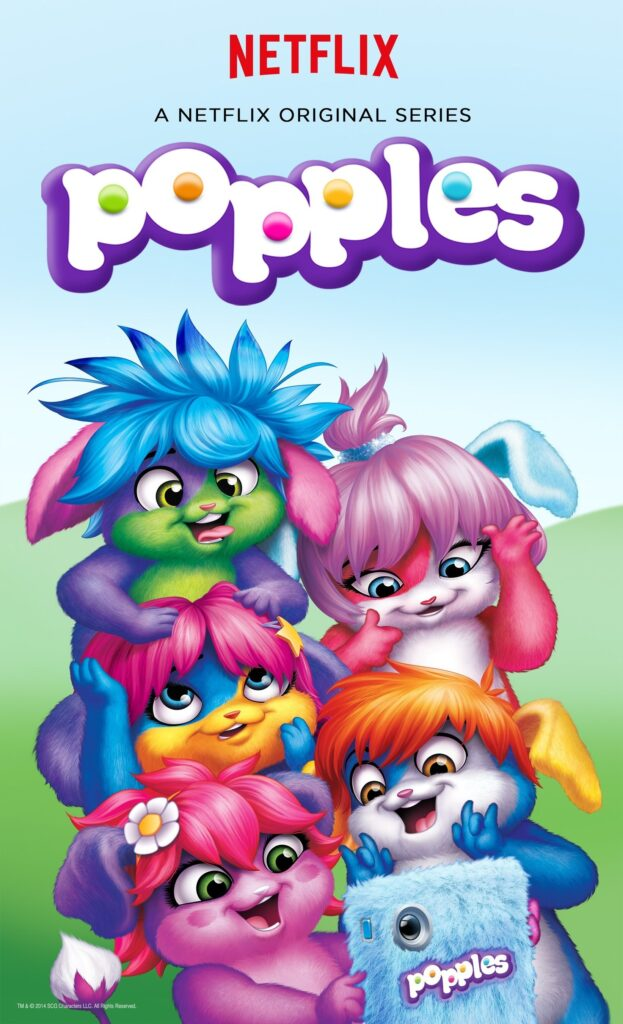 Netflix Saban Popples 2016